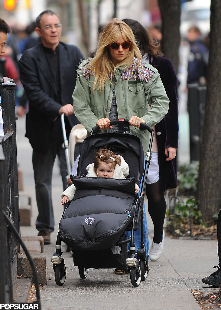 Sienna Spends Time With Tom and Marlowe as He Preps For His Opening Night