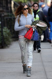 Sarah Jessica Parker Shares Hugs With Her Schoolgirls in NYC