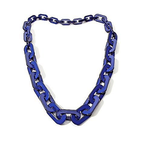 Iris Apfel Necklace Top off any ensemble in charismatic style with this timelessly colorful statement-maker that combines a classic shape with modern proportions.