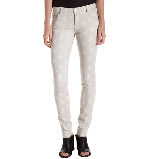 These Girl. by Band of Outsiders floral jeans ($69, originally $185) are a neutral palette, which means they'll go with just about any top.