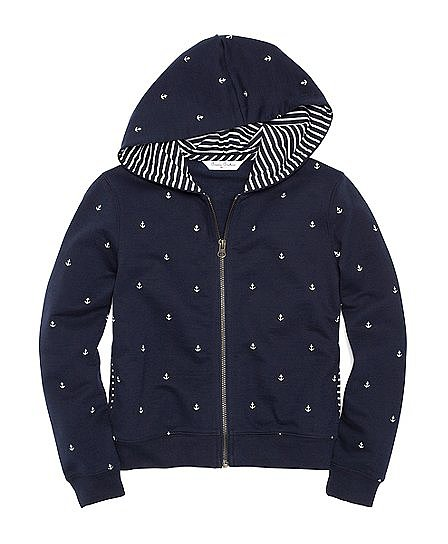 Brooks Brothers makes even a hoodie ($35, originally $70) look posh and pulled together, as is evidenced in this adorable zip-up.