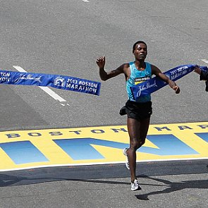 Boston Marathon Men's 2013 Winner