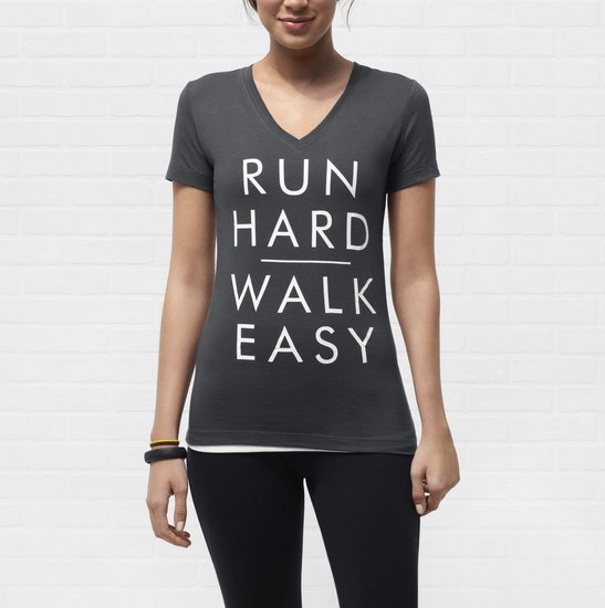 Run Hard, Walk Easy