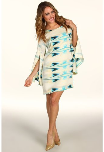 Tbags Los Angeles - Long Sleeve Short Dress (DE4) - Apparel