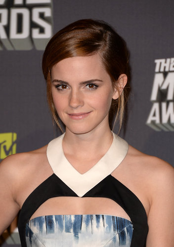 Pictures of Emma Watson at 2013 MTV Movie Awards