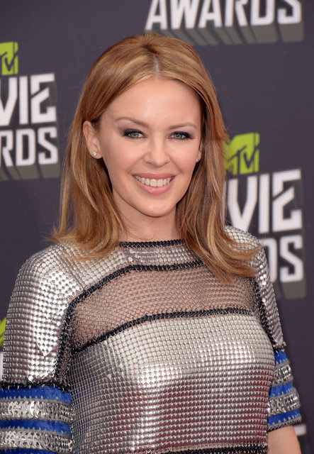 Pictures of Kylie Minogue at 2013 MTV Movie Awards