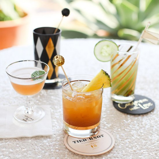 13 Ways to Shake Up a Standout Signature Wedding Cocktail