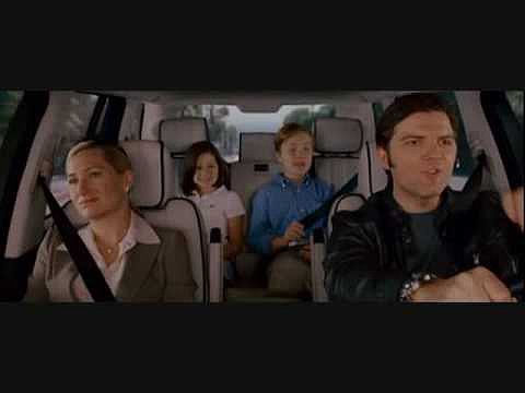 Adam Scott and Family in Step Brothers