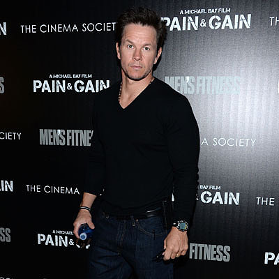 Mark Wahlberg Talks Boston Marathon at Pain & Gain NYC