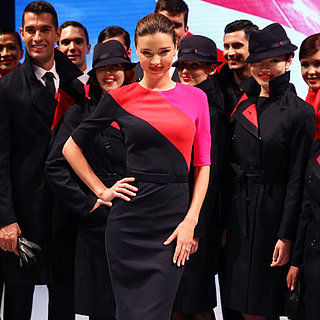 Miranda Kerr Modeling For Qantas in Sydney | Pictures