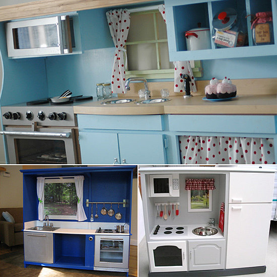 6 Beautiful Play Kitchens You Can Build Yourself!