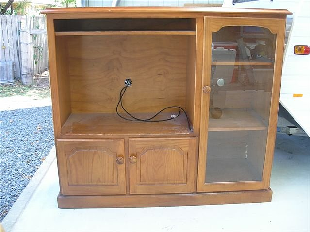 The Before: A Preloved TV Unit