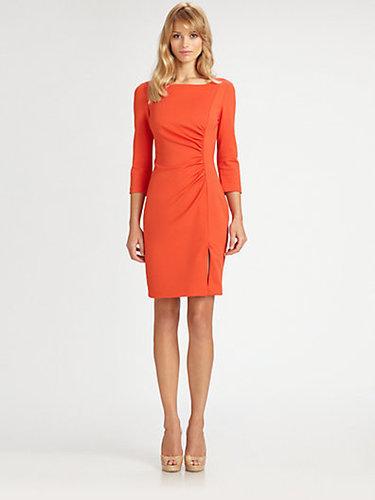 Trina Turk Ruched Ponte Dress