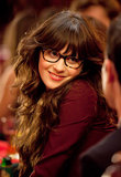 "The next generation of geeky-cool, glasses-wearing celebrity after Tina is Zooey Deschanel and her New Girl character Jess, a teacher who pulls off ""librarian chic."""
