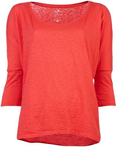 Velvet Onyli slub t-shirt