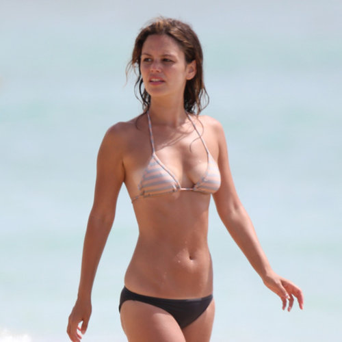 Rachel Bilson Bikini Pictures on Holiday in Barbados