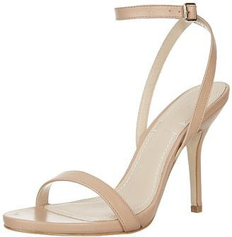 Understated and elegant, this Elizabeth and James Toni ankle-strap bare sandal ($298) can be styled with just about anything in your Spring and Summer wardrobe.