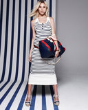 A striped Saint James for Coach dress is always a perfect Summer go-to look.