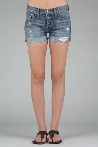 Work Custom Jeans Beatnik Short in Medium Riviera