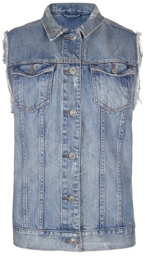 Kiku Denim Gilet