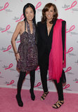 Vera Wang and Donna Karan posed together.
