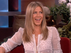 "Jennifer Aniston Reveals Justin Theroux's Surprising ""Trickery"""