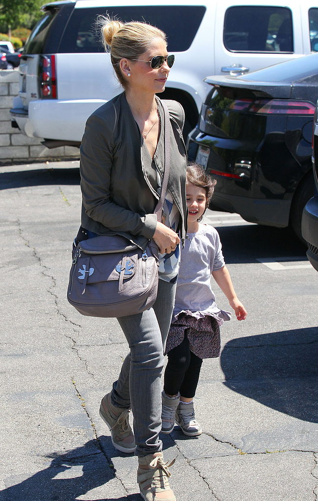 Sarah Michelle Gellar and Charlotte Make a Postbirthday Gym Stop