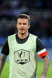 David Beckham Takes the Field While Victoria Celebrates 39 at Nobu