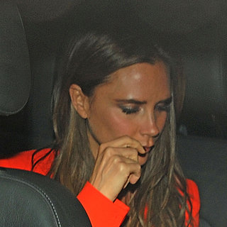 Victoria Beckham's Birthday Dinner With Sons