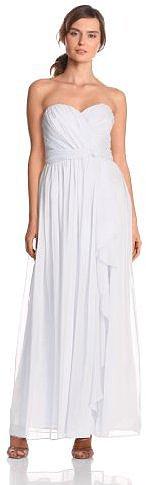 Jessica Simpson Women's Strapless Gown