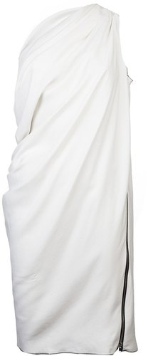 Nicolas Andreas Taralis Zippered halter dress