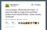 Kari Byron of MythBusters shares a DIY anti-Genius Bar recipe for water-stricken iPhones.