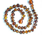 Marina Marine Baltic Amber Teething Necklace ($13)
