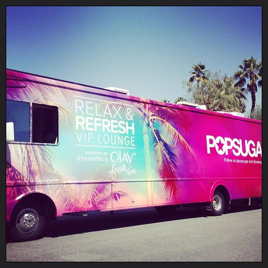 Did you stop by our POPSUGAR VIP Lounge to relax and refresh?