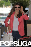 Miranda Kerr caught a flight out of Australia.