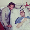 Bradley Cooper Visits Boston Marathon Bombing Survivor