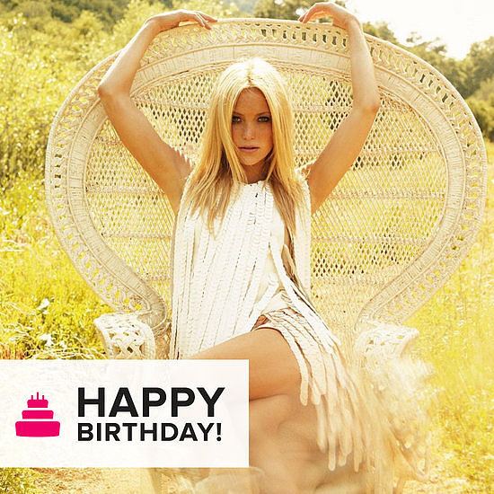 "We wished Kate Hudson a ""happy birthday"" with a slideshow of her best fashion editorials."