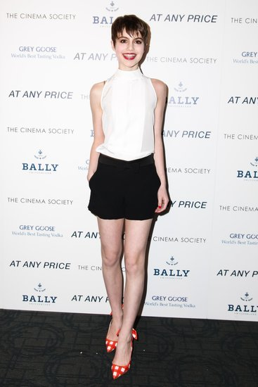 Sami Gayle at The Cinema Society and HRC's At Any Price screening in New York. Source: Matteo Prandoni/BFAnyc.com