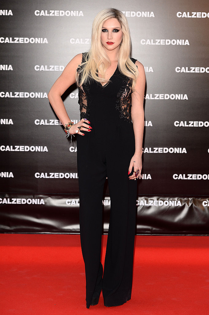 "Ke$ha at the Calzedonia ""Forever Together"" show in Rimini, Italy."