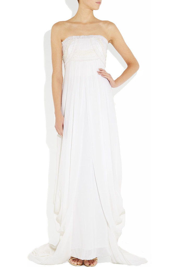 A classic silhouette from Temperley London ($3,585) that's as flattering as it is timeless.