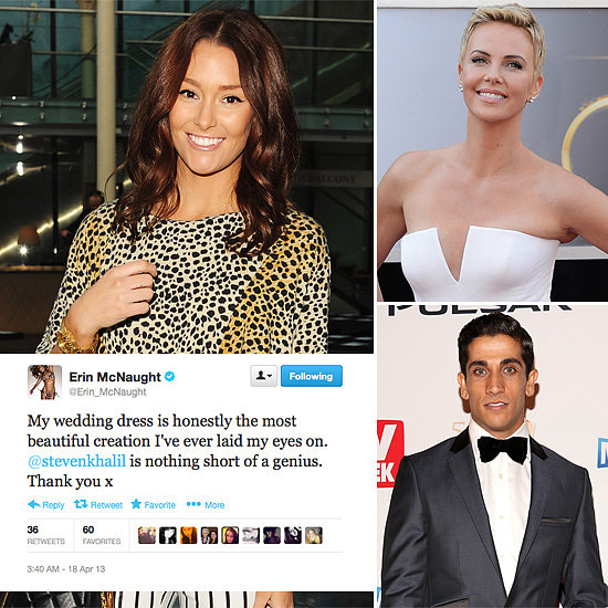 Tweets of the Week: Erin McNaught, Charlize Theron, Firass Dirani & More