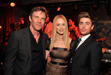 Dennis Quaid, Heather Graham, and Zac Efron partied it up after their film At Any Price's premiere.