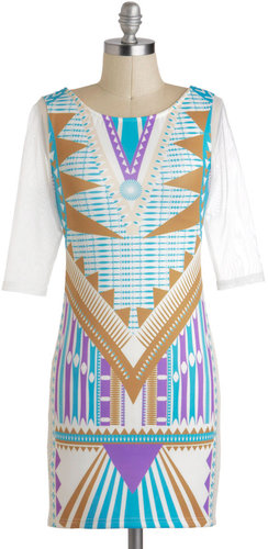 Futuristic Terrain Dress