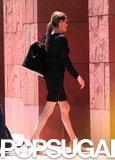 Angelina Jolie showed off her legs on an errand in LA.