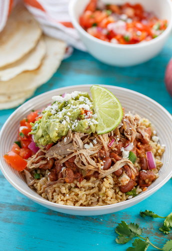 Better Than Chipotle Carnitas Burrito Bowl