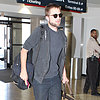Robert Pattinson Pictures Departing From LAX
