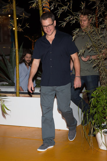 Matt Damon participated in the Summer of Sony event in Mexico.