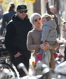 Pink and Carey Hart took their daughter, Willow, sightseeing in Amsterdam on Saturday.