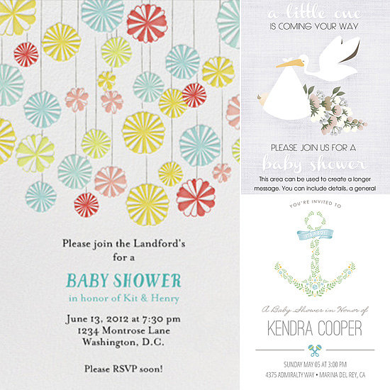 Electronic Baby Shower Invitations