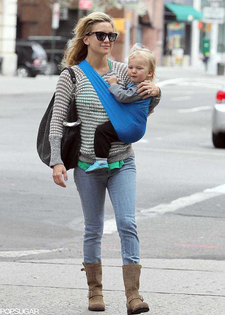 Kate Hudson carried Bingham in NYC.